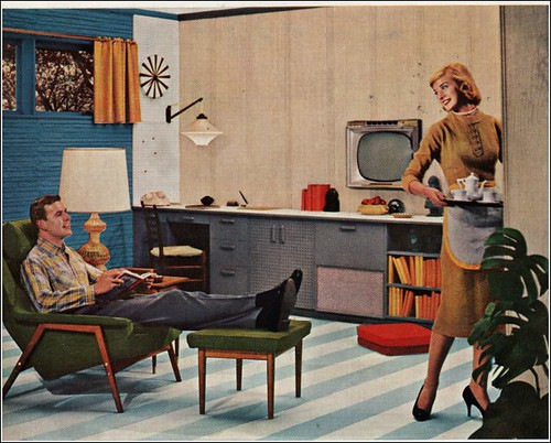 masonite paneling 1958