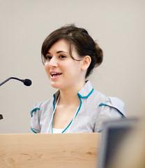 """HarperCollins editor Rachel Abrams at SCBWI-LA Writer""""s Day 2010"""