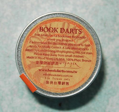 Book darts 2