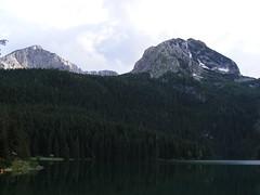 Black Lake - Crno Jezero (Jelena1) Tags: lake water nationalpark europe balkans blacklake glaciallake jezero durmitor crnojezero medjed flickraward dinarides medjedpeak