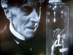 Ernest Thesiger as Dr Septimus Pretorius 9569 (Brechtbug) Tags: from film monster by movie that was james bride bottle with dr or character cloning it screen science been have frankenstein clones horror devil whale claude mad ernest grab director clone creature bela imp rains scientist played magician lugosi 1935 originally pretorius thesiger septimus rumored