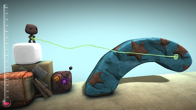 LittleBigPlanet for PlayStation Vita - Level creation