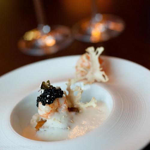 Alimentum - Langoustine, Pork Belly, Cauliflower