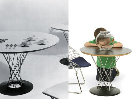 Noguchi Cyclone Table for Kids
