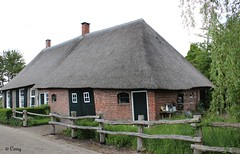 The hamlet Giersbergen originated in the 13th century and has 28 inhabitants. (♥ Corry ♥) Tags: giersbergen farm history architecture building hamlet thatchroof doors windows netherlands