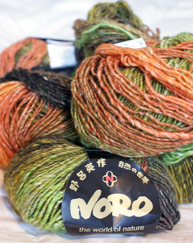 Future Sweater #4: Noro Silk Garden Lite