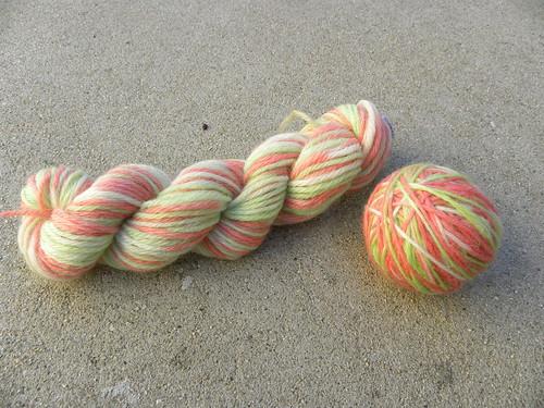 Hand-dyed yarn 3