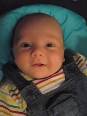 Thomas Smiling!