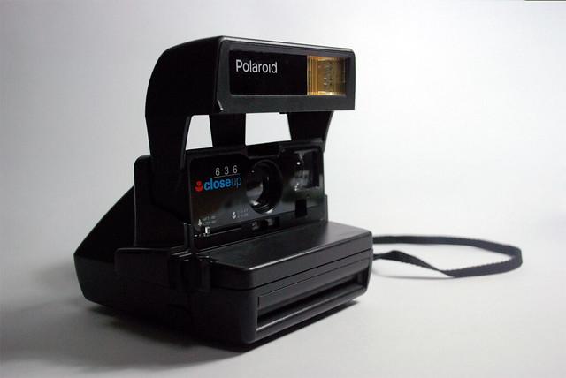 Encontré mi vieja Polaroid