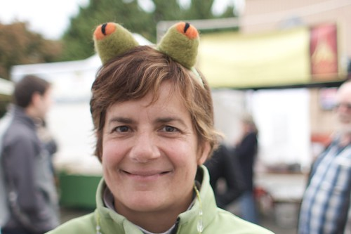 Customer with Frog Ears