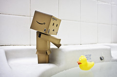New Friend (avenue207) Tags: duck danbo revoltech