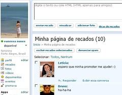 Testei O Novo Orkut Restrito A Quem Tem Convite Van Vanessa Nunes