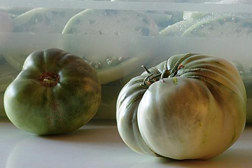 Ingredienti per la marmellata di pomodori verdi