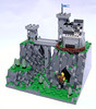 Fee Fie Foe Fum (DARKspawn) Tags: bridge castle giant landscape lego pass mini micro keep ravine