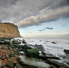 Where elements collide.. (Danil) Tags: england cliff seascape france landscape nikon rocks unitedkingdom daniel hastings channel branding landschap d300 krijtrotsen photographersheaven