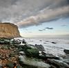 Where elements collide.. (Dani℮l) Tags: england cliff seascape france landscape nikon rocks unitedkingdom daniel hastings channel branding landschap d300 krijtrotsen photographersheaven