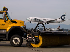 Sea-Tac Airport Snow Removal Practice