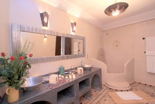 Salles de bains des Riads à Marrakech