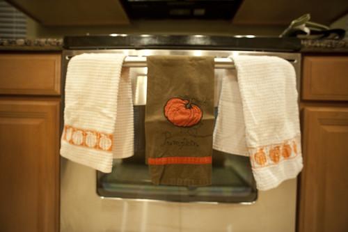 Fall Kitchen Towels