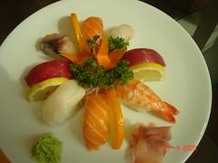 Variado de Sashimi