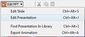 Edit PPT Option in Adobe Captivate