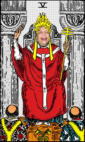 Carmen as Hierophant
