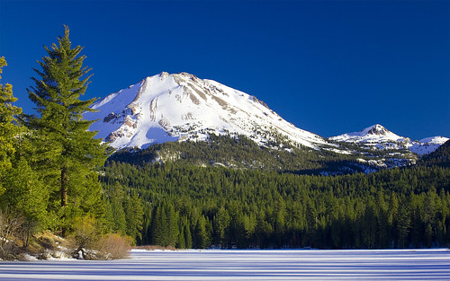 Mt. Lassen from Manzanita Lake