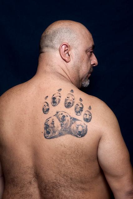 bear oso tattoo zarpa paw 091210_5022 por carlos escolástico