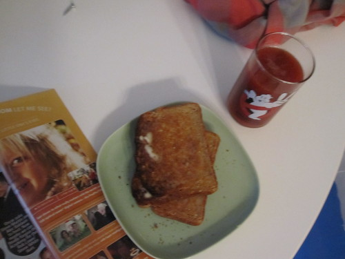 Toast and clamato at home