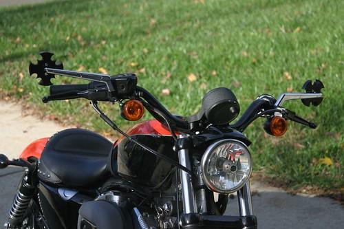IAeromach Mirrors for Harley Nightster