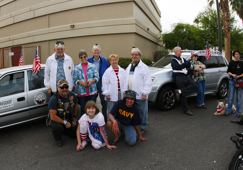 Pearl Harbor Survivors muster up