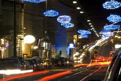 nchtlicher Stadtverkehr (2) (gregvie) Tags: vienna wien city light urban night austria licht sterreich nightshot traffic nacht stadt verkehr beleuchtung nachtaufnahme whringerstrase