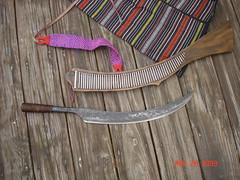 Laraw & Sheath (kukulza28) Tags: knife taiwan sword aborigine blade machete dao 烏來 rattan taiwanese wulai sheath 刀 atayal 原住民 tayal 銅門 laraw yuanzhumin 番刀 mgaga