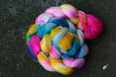 Tie Dye- Superwash Merino Top