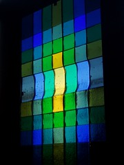 Fused Panel (Aidan McRae Thomson) Tags: panel exhibition oxfordshire fusedglass yarnton