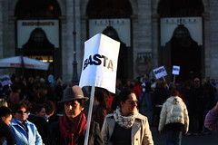 IMG_5711 ([iskra]) Tags: woman roma action revolution donne strike basta manifestazione 28novembre giornatamondialecontrolaviolenzamaschilesulledonne