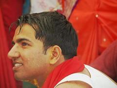 (Veee Man) Tags: wedding red people india man smile groom una himachalpradesh