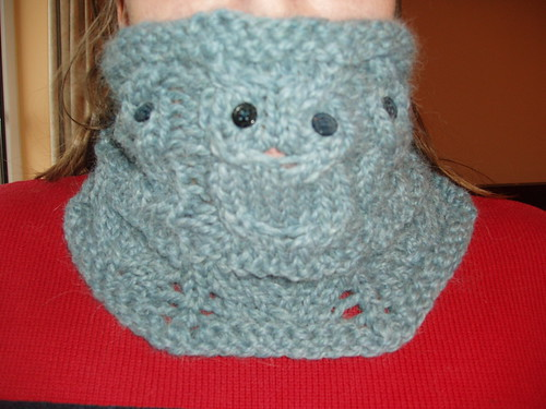 Owl Cowl Knitting Pattern : Knit, Inc: Twit whoo!
