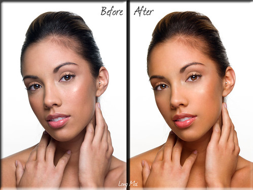 Skin Retouch - Before After
