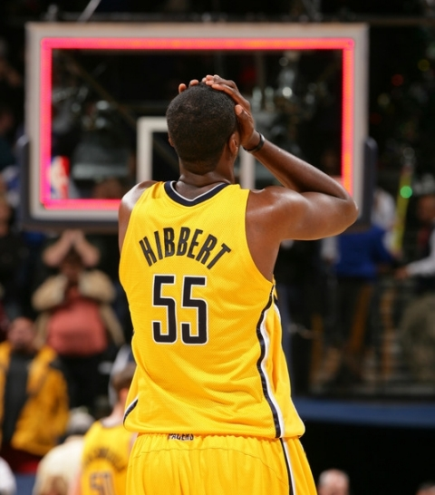 The agony of Roy Hibbert