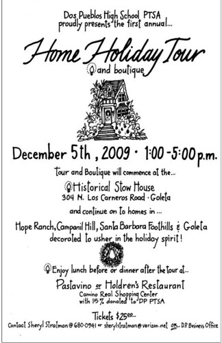 Dos Pueblos Home Holiday Tour