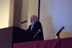 Doug North @ 2009 Coase Conference, University of Chicago School of Law