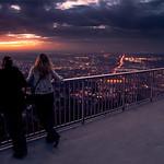sunset vs city lights