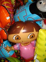 Balloons (notFlunky) Tags: balloons engine blue planet colour color thomas tank sponge bob squarepants nemo bright dazzle vibrant nttbus bizarre unusual surreal bold