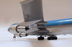 Korean Air B747-300 (mhansari) Tags: air korean 1200 b747 diecast b743 aviation200