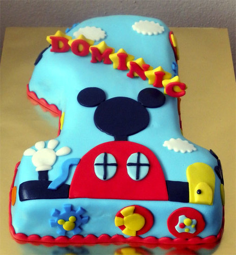 Mickey Clubhouse No.1 Cake