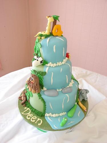 Deen´s Jungle Safari Adventure Cake