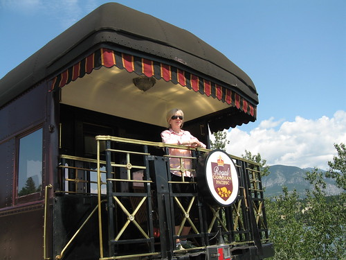Mount Stephen rail car, Royal Canadian Pacific luxury train