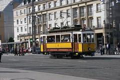 Tram Oldtimer (Heiko S.) Tags: train germany deutschland tram eisenbahn railway zug cablecar lightrail trams kvv trolleycar badenwrttemberg badenwuerttemberg stadtbahn canon400d