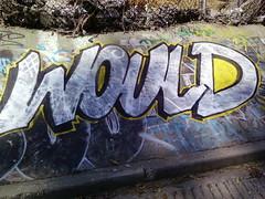 would (graffiti oakland) Tags: wood graffiti oakland would mbt kod wbf